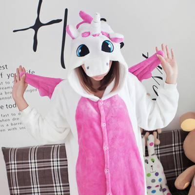 Qoo10 - Pink Unicorn Pajama Onesies Unicorn Cosplay Costume Unisex Anime  Hoodi...   Women s Clothing 95f1957ab
