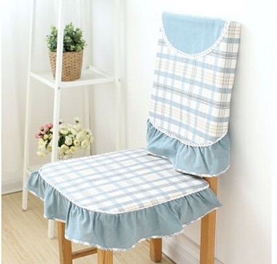 Plaid Tablecloth Chair Cover Fabric Upholstery Coverings Piece Suit 61122  Tablecloth Chair Package