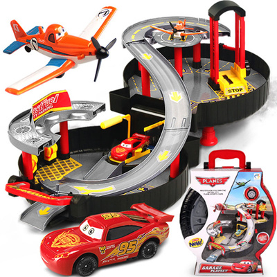 Qoo10 Planes Parking Lot Rail Toy Cars Parking Lot Rail Toy Kids