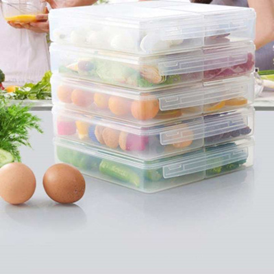 Plastic Kitchen Sealed Crisper Refrigerator Plastic Food Storage Box Preservation Box Container Kitc