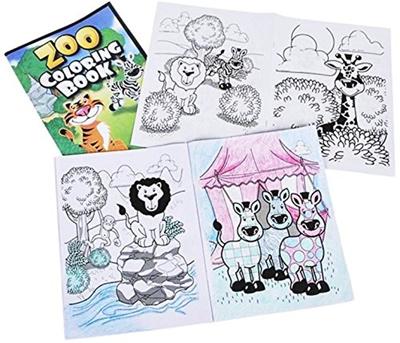 Play Kreative Play Kreative Zoo Coloring Book Kids Jungle Animal Coloring Books Children Sa