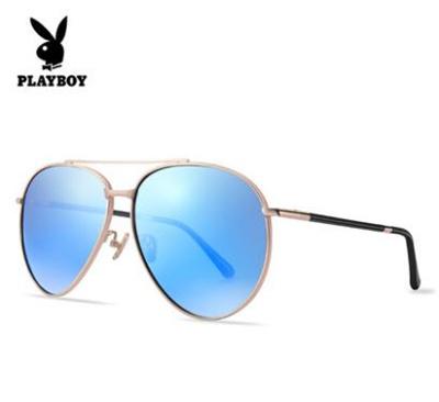 b9403b7399c01 Qoo10 - Playboy men sunglasses driver mirror polarized toad eyes myopic  sungla...   Fashion Accessor.