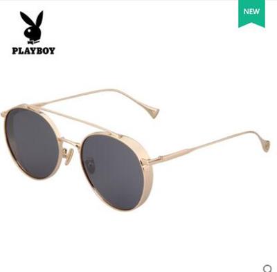 35affaab34 Qoo10 - Playboy sunglasses female round face big frame retro glasses driver  dr...   Fashion Accessor.
