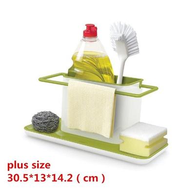 qoo10 - plus size plastic racks organizer caddy storage kitchen sink