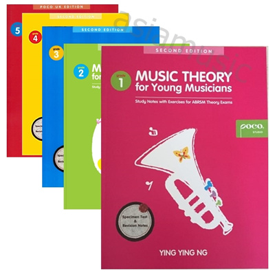 Poco Music Theory for Young Musicians Grade 1 Grade 2 Grade 3 Grade 4 Grade  5 MODEL ANSWERS