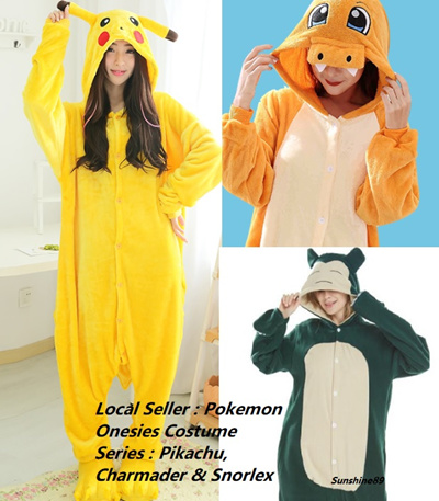 Qoo10 - Pokemon Onesie   Women s Clothing fcca904a1