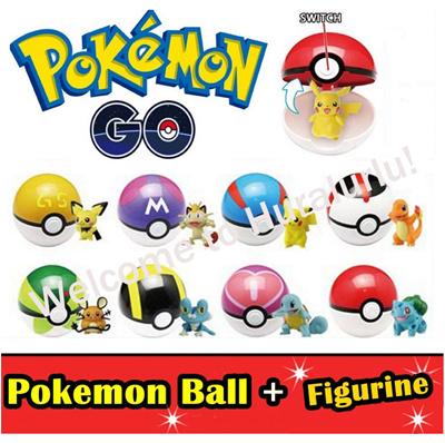 qoo10 pokemon go pokemon ball pokeball pokémon ball mini