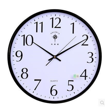 wall clock for office. Polaris 18 - Inch Ultra Quiet Living Room Calendar Wall Clock Office Simple Linked For D