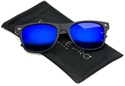 02fe3e556f1 Qoo10 - Polarized Flat Mirrored Reflective Revo Color Lens Large Horn Rimmed  S...   Fashion Accessor.