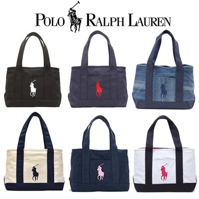 4d303b342c Qoo10 - Polo Ralph Lauren Medium School Tote Bag 6   Bag   Wallet