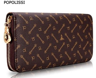 cec7b528d01f Qoo10 -  POPOLISSI  Lady wallet  long section Clutch Wallets  Free shipping  7 ...   Bag   Wallet