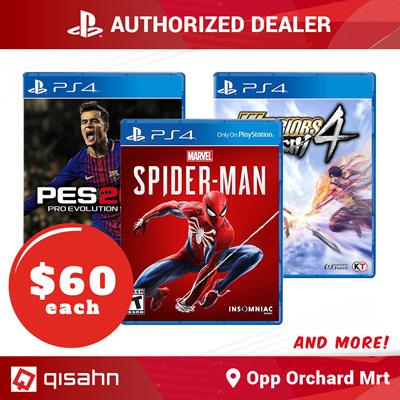 [Sony]Popular PlayStation 4 PS4 games at $60