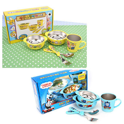 Qoo10 pororo stainless set kitchen dining for Qoo10 kitchen set