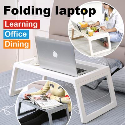 Qoo10 Portable Foldable Folding Laptop Table Notebook Desk Sofa Bed T Furniture Deco