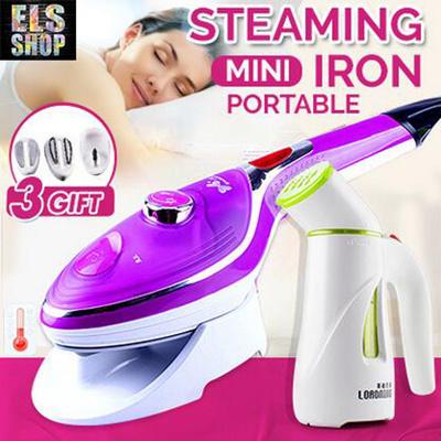 Portable Hand Steamer / Mini Handheld Garment Steamer / Hand Steam Iron/  Hanging Household Steaming