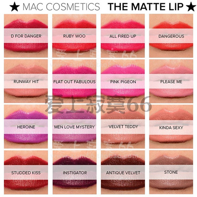 Qoo10 post authentic mac lipstick mac ruby woo lipstick - Mac diva lipstick price ...