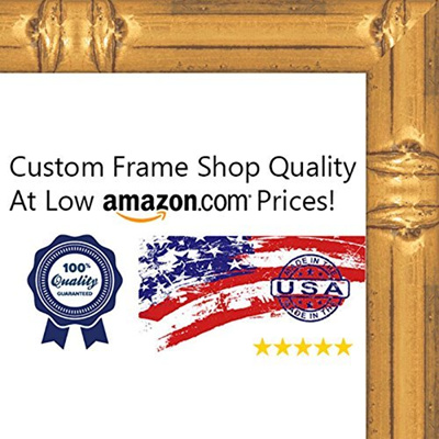 Qoo10 - (Poster Palooza) 17x24 Bamboo Gold Wood Picture Frame - UV ...