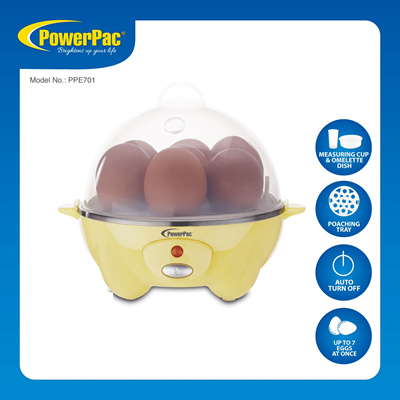 Home, Furniture & Diy Have An Inquiring Mind 4 Eggs Egg Boiler Cooker Poacher Steamer Electric Boiled 7 Eggs Omelette Maker