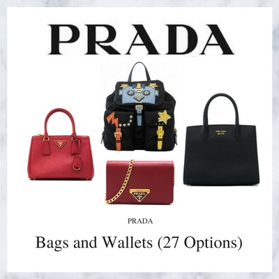 3a96ae8e3380 Qoo10 - Prada Bags and Wallets (Available In 27 Options) : Bag & Wallet