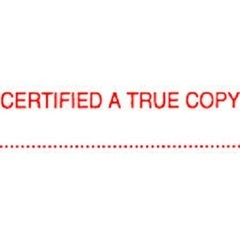 Qoo10 - STAMP- CERTIFIEDTRUE : Stationery & Supplies