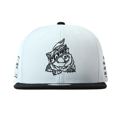 Qoo10 -  PREMIER  FLIPPER Snapback Rose white black (FL209)   Fashion  Accessories 7b51f3c0e7e