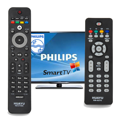 ★Premium★ 3 days offer !! !Universal Philips TV Remote Control-no set up  required direct use