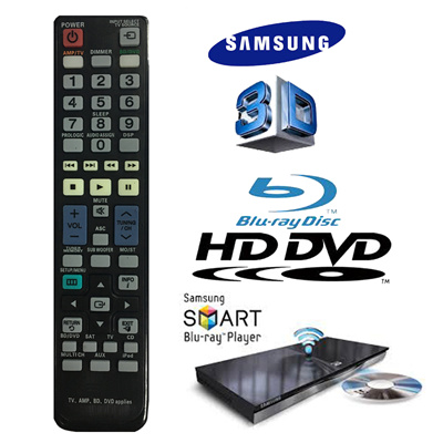 ★Premium★ 3 days offer !! Universal Remote Control for Samsung TV AMP Blue  Ray DVD -local seller!