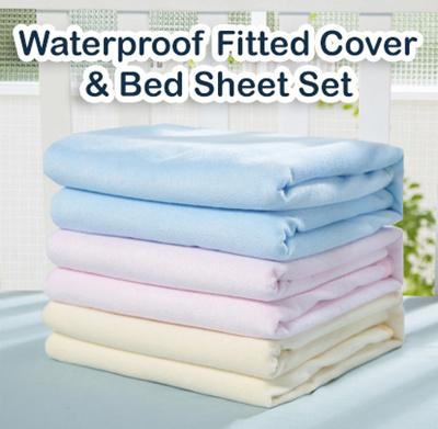 Premium Quality Bamboo Fiber Waterproof Mattress Sheet / Bed Sheet/mattress  Protector/mattress Cover