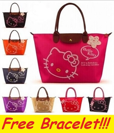 fb07c2a0ef3b ☆Premium Quality Hello Kitty Bag☆Long Champ Style Handbag Pouch Luggage