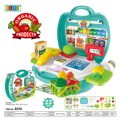 Pretend Play Toys Super Market Set Kitchen Boys And Girls Cooking