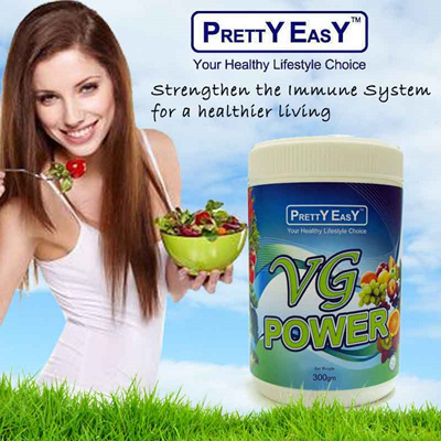 PRETTY EASY[Visible Difference In 7 Days Detox!] VG POWER Fiber  Nutrient-Rich Supplement Diet