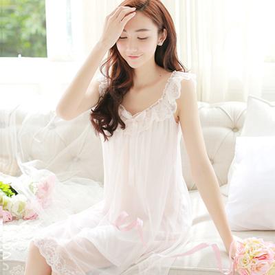 Qoo10 - PRINSTY Princess Pajamas Women summer sweet sexy Korean lace strap  sho...   Underwear   Sock. ce36ed6d2