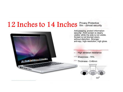 Privacy Screen Filter/ Screen Protector for Laptop/ Notebook / Monitor and  Desktop (Similar to 3M)