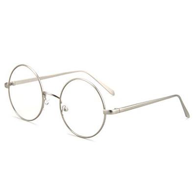 4a2d424124c Qoo10 - (Pro Acme) Pro Acme Retro Round Metal Frame Clear Lens Glasses Non-Pre...    Fashion Accessor.