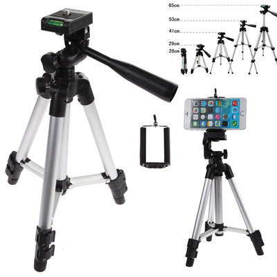 save off dc578 90b2e Professional Camera Tripod Mount Stand Holder for Smart Phone iPhone 6s  Samsung