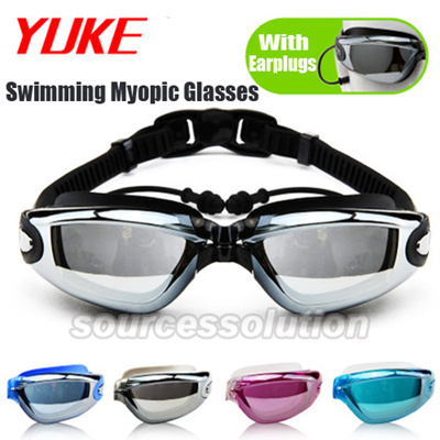 df4a479af02 Professional Diving Swimming Myopic Glasses Waterproof Anti Fog UV  Protection Adults Swim goggles