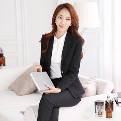 Qoo10 Professional Dress Dress Suit Business Temperament Skinny
