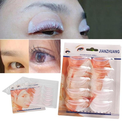 Professional Eyelash Perm Patch Planting 3D Eyelashes Perming Mould Tools c70ec758dcf9
