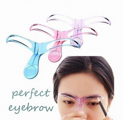 Qoo10 Professional Salon Eyebrow Shaper Stencil Eye Brow Guide