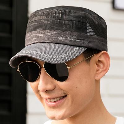 86c44c21ae6 Qoo10 - ProMED euro mesh flat-topped hats men  s outdoor quick-drying Cap  s...   Men s Bags   Sho.
