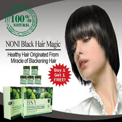 PROMO BUY1GET1 BSY NONI BPOM SHAMPOO NATURAL / CARE HAIR CALCULATOR HAIR AND SKIN HEAD while