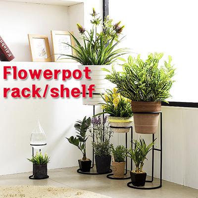 225 & [prop] Interior stand shelf collection iron flowerpot stand/Flowerpot rack/Flower pots hanging rack