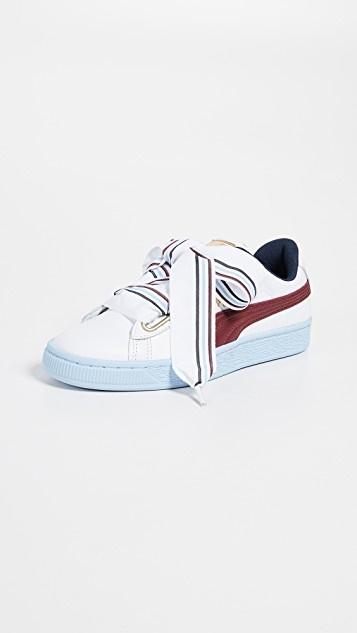 Qoo10 - PUMA Basket Heart New School Sneakers   Shoes ca88de514094