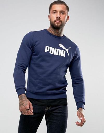 e3ff3ddc981 Qoo10 - Puma ESS No. 1 Crewneck Sweatshirt In Navy 83825206   Women s  Clothing