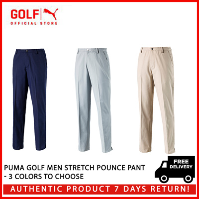 9b3f05229ee9 PUMA GOLF Men Stretch Pounce Pant - 3 Colors to Choose ☆ FREE DELIVERY ☆  AUTHENTIC