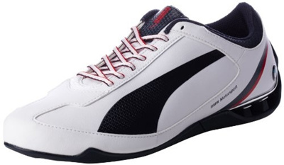 b29aeb02e407 PUMA Men s Power Race BMW Motorsports SL Fashion Sneaker,White BMW Team Blue