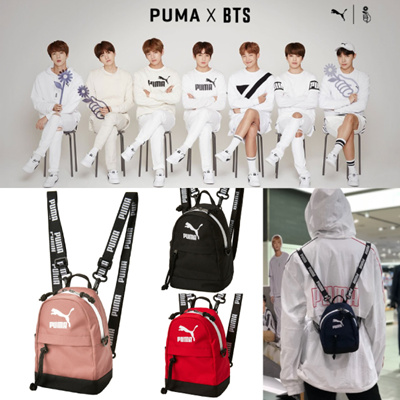 181b78d71f  PUMA  BTS Collection  Korea Hot Item  MINIME RETRO BACKPACK  100%