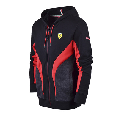 Qoo10 Puma Men PUMA FERRARI MENS HOODED SWEAT JACKET SIZE