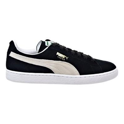 b965649c6f1 Qoo10 - PUMA Puma Suede Classic Mens Shoes Black-White 352634-03 ...
