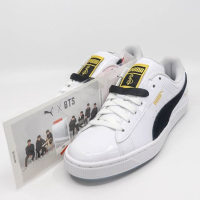the latest fbb08 1eca3 PUMA[PUMA X BTS] ♥Use Qoo10 Coupon♥ Lowest Price in Qoo10 SG♥ Buy Get Free  Gift/ 防弹少年团 TURIN/100% BASKET PATENT 36827801